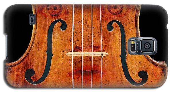 Girl In A Violin Galaxy S5 Case