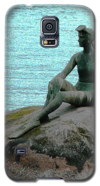 Girl In A Wetsuit Galaxy S5 Case by Patricia Januszkiewicz