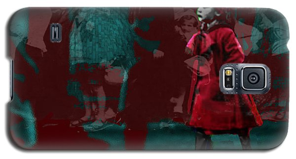 Girl In The Blood-stained Coat Galaxy S5 Case by Seth Weaver