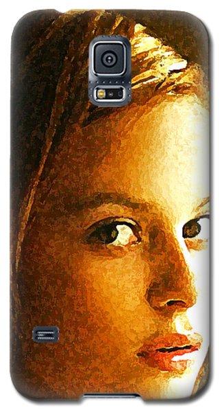 Girl Sans Galaxy S5 Case