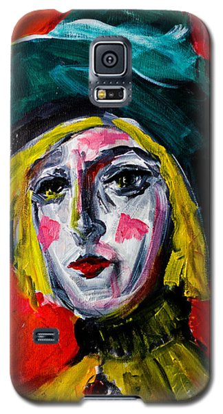Girl With A Green Hat Galaxy S5 Case