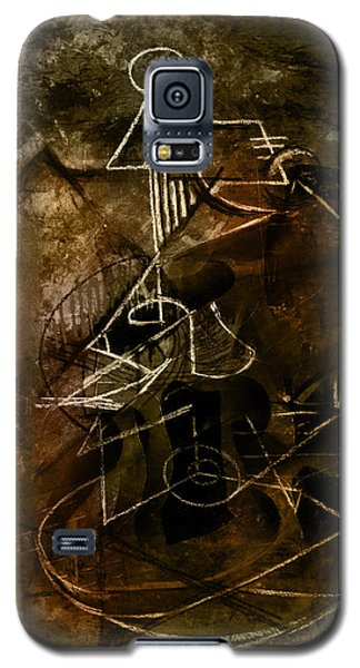 Girl With Guitar Study Galaxy S5 Case by Kim Gauge
