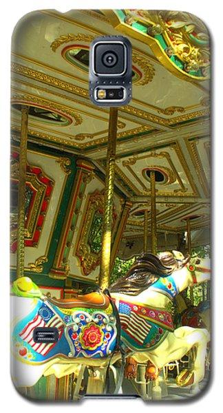 Galaxy S5 Case featuring the photograph Girls' Dream by Rachel Mirror