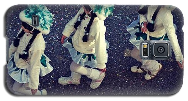 Funny Galaxy S5 Case - Girls Marching In A Row by Matthias Hauser