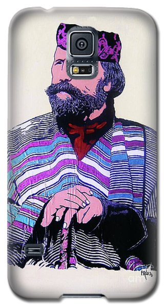 Galaxy S5 Case featuring the painting Giuseppe Garibaldi by Roberto Prusso