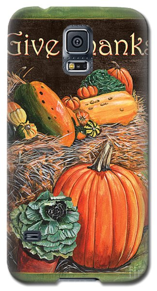 Give Thanks Galaxy S5 Case by Debbie DeWitt