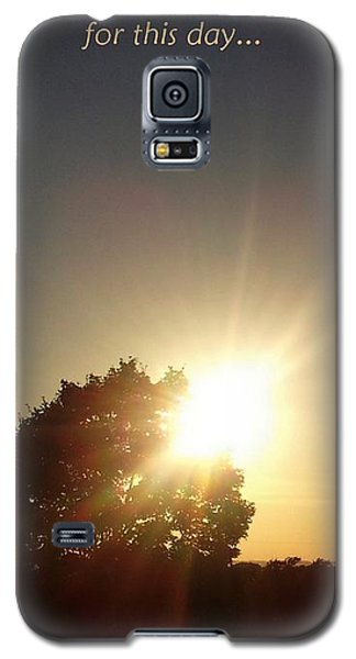 Give Thanks Galaxy S5 Case