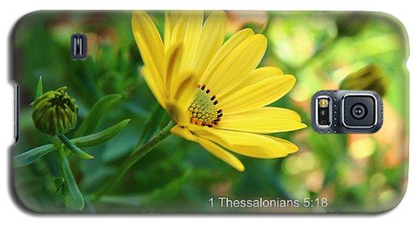 Give Thanks Galaxy S5 Case by Lynn Hopwood