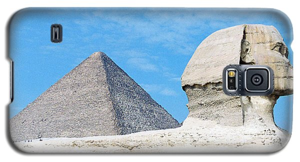 Galaxy S5 Case featuring the photograph Giza by Cassandra Buckley