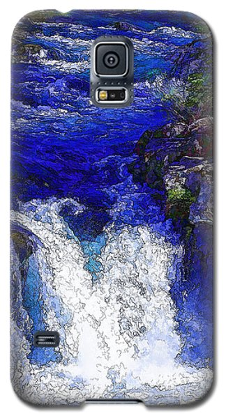 Glacial Flow-2 Galaxy S5 Case by Nancy Marie Ricketts