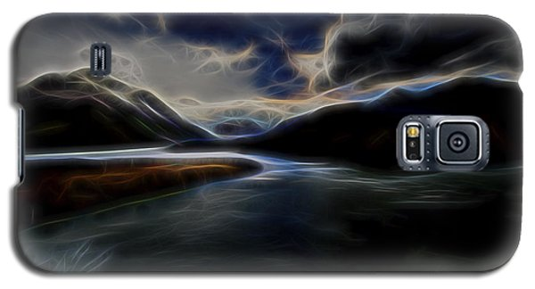Galaxy S5 Case featuring the digital art Glacial Light 1 by William Horden