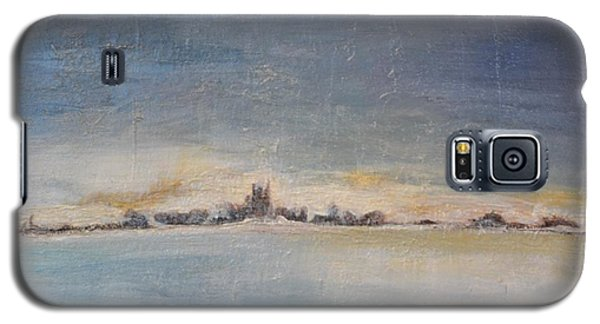 Galaxy S5 Case featuring the painting Glacial Perspective by Lori Jacobus-Crawford