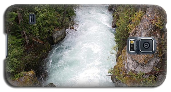 Galaxy S5 Case featuring the photograph Glacial River - Whistler by Amanda Holmes Tzafrir