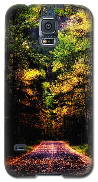 Glacier Fall Road Galaxy S5 Case by Susan Kinney