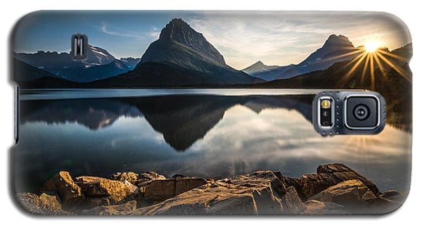 Mountain Galaxy S5 Case - Glacier National Park by Larry Marshall