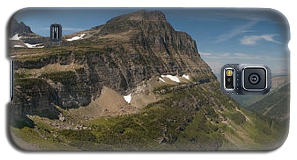 Glacier National Park Panorama Galaxy S5 Case by Sebastian Musial
