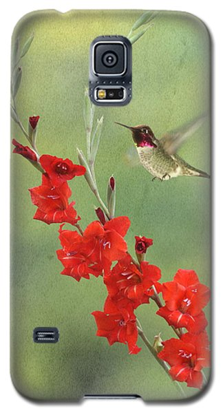Glad Hummingbird Galaxy S5 Case