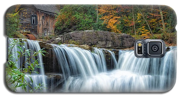 Glade Creek Grist Mill And Waterfalls Galaxy S5 Case