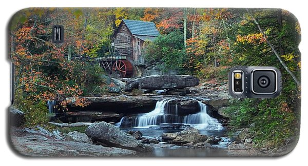 Galaxy S5 Case featuring the photograph Glade Creek Grist Mill by Daniel Behm