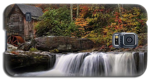 Glade Creek Grist Mill - Photo Galaxy S5 Case by Chris Flees