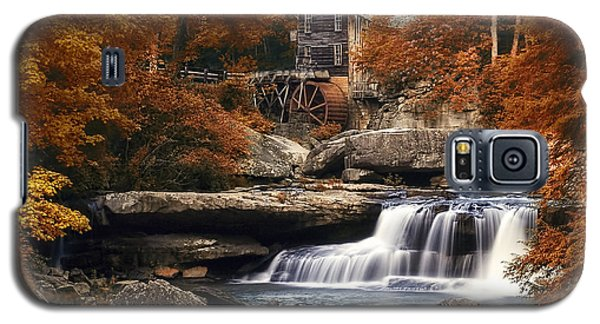 Glade Creek Mill In Autumn Galaxy S5 Case by Tom Mc Nemar