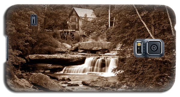 Glade Creek Mill In Sepia Galaxy S5 Case by Tom Mc Nemar