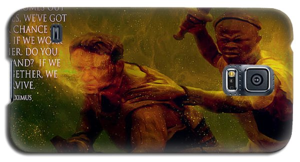 Galaxy S5 Case featuring the photograph Gladiator  by Brian Reaves