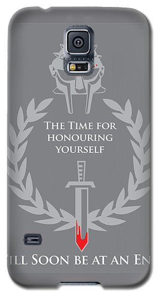Galaxy S5 Case featuring the digital art Gladiator by Timothy Lowry