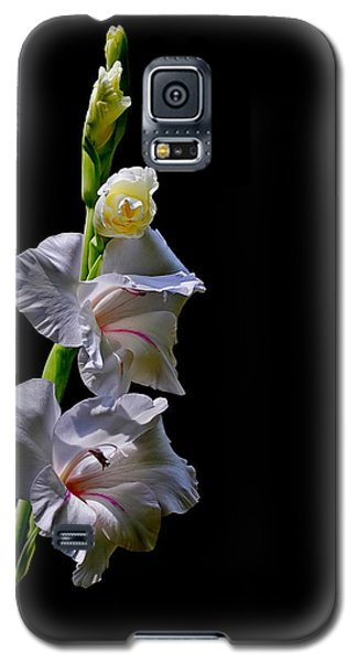Galaxy S5 Case featuring the photograph Gladiola by Farol Tomson