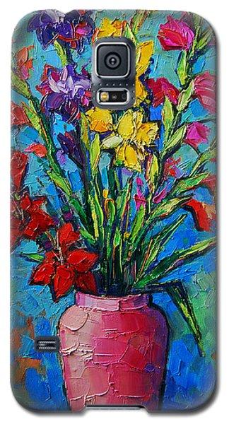 Gladioli In A Vase Galaxy S5 Case