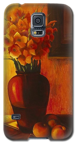 Gladioli Red Galaxy S5 Case