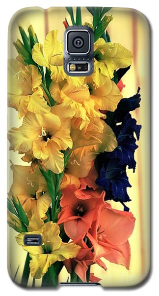 Galaxy S5 Case featuring the photograph Gladiolus  2013 by Marjorie Imbeau