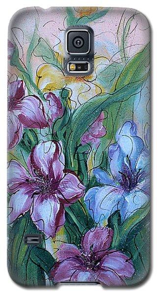 Gladiolus Galaxy S5 Case by Natalie Holland