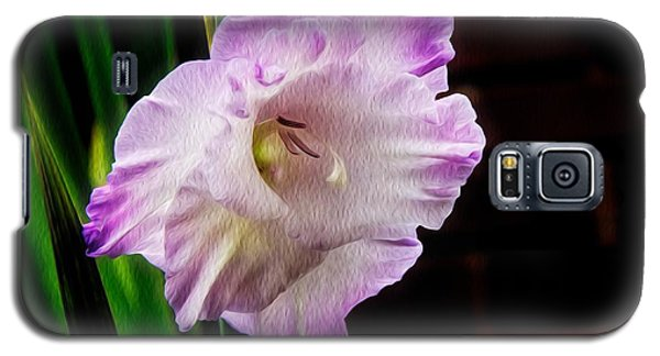 Gladiolus - Summer Beauty Galaxy S5 Case by Tom Culver