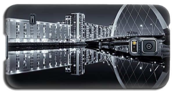 Glasgow In Black And White Galaxy S5 Case