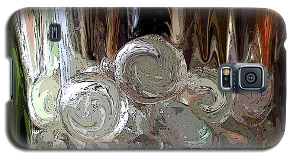 Galaxy S5 Case featuring the digital art Glass In Glass by Mary Bedy