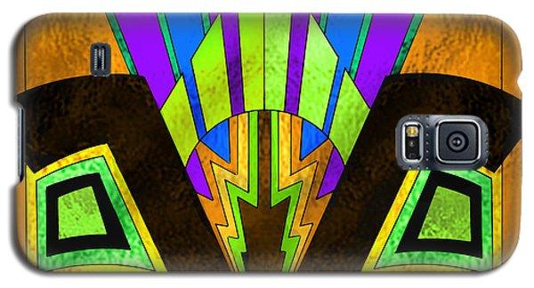 Glass Pattern 5 B Galaxy S5 Case by Chuck Staley