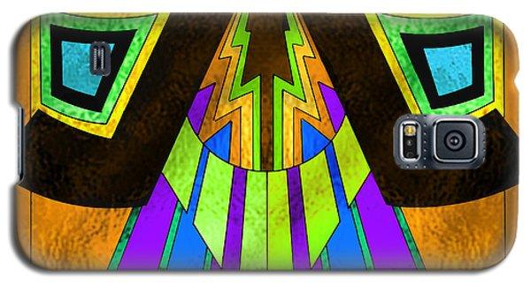 Glass Pattern 5 D Galaxy S5 Case