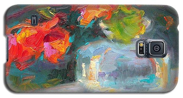 Gleaning Light Nasturtium Still Life Galaxy S5 Case