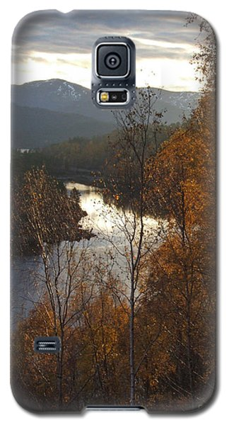 Silver And Gold - Glen Affric Galaxy S5 Case