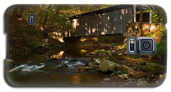 Glen Hope Covered Bridge Galaxy S5 Case