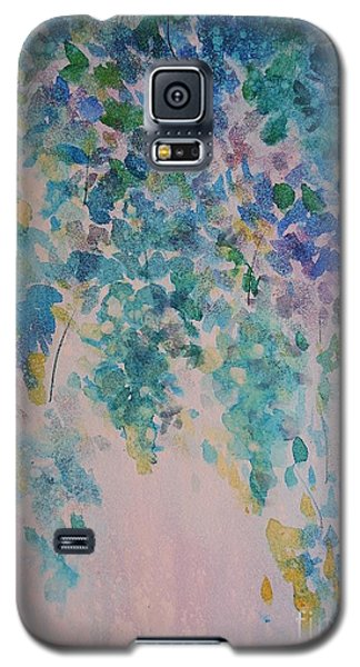 Galaxy S5 Case featuring the painting Glicine Harmony by Kathleen Pio