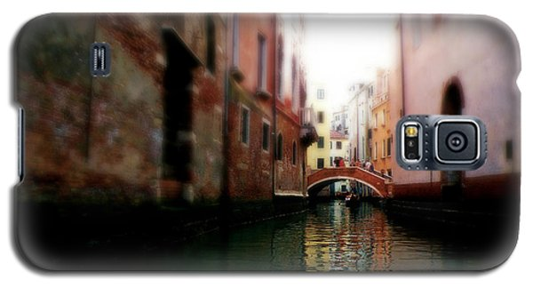 Galaxy S5 Case featuring the photograph Gliding Along The Canal  by Micki Findlay
