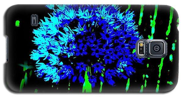 Globe Allium  Galaxy S5 Case by Sally Simon