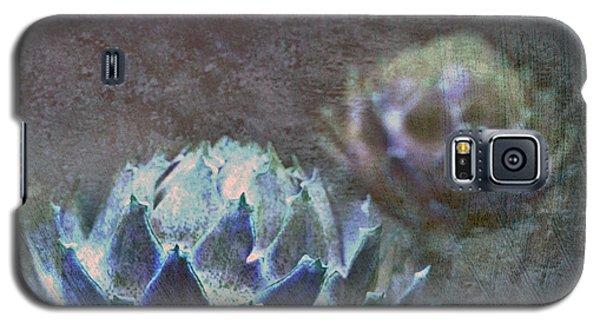 Galaxy S5 Case featuring the photograph Globe Artichoke by Liz  Alderdice