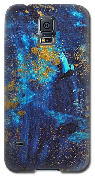 Galaxy S5 Case featuring the painting Gloria by Mary Sullivan