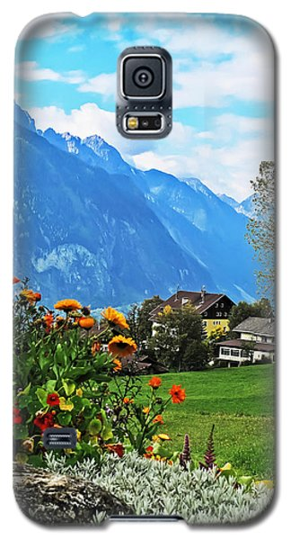 Glorious Alpine Meadow Galaxy S5 Case