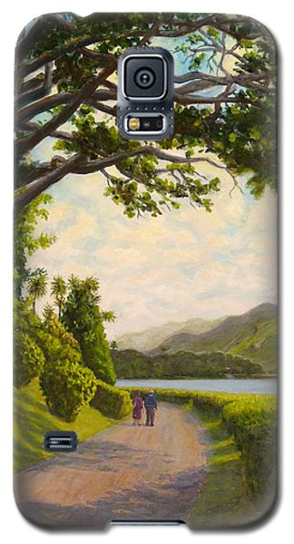 Galaxy S5 Case featuring the painting Glorious Galway by Joe Bergholm