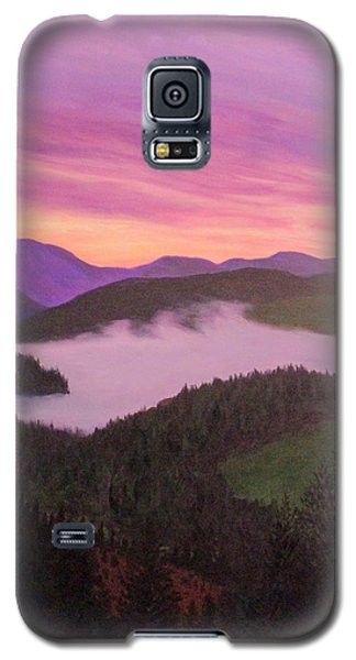 Glorious Sunset Galaxy S5 Case by Janet Greer Sammons