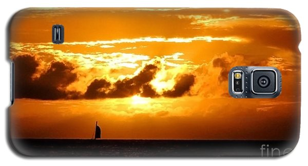 Galaxy S5 Case featuring the photograph Glorious Sunset by Kristine Merc